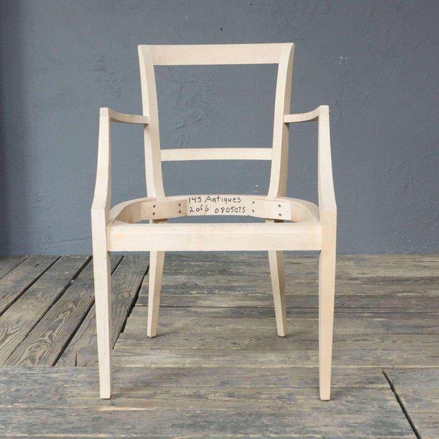 This is an unfinished frame based on a Classic French, 1940s style, offers comfort along with elegance and grace. The...