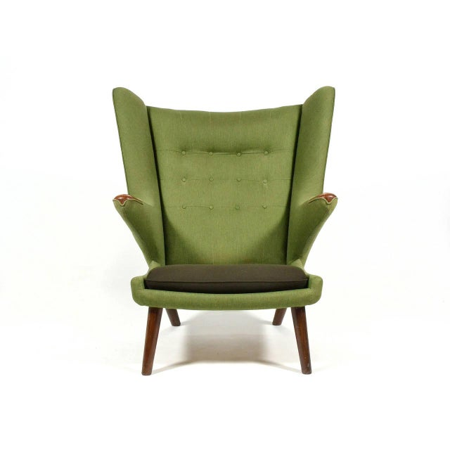 A.P. Stolen Hans Wegner Papa Bear Chair For Sale - Image 4 of 11