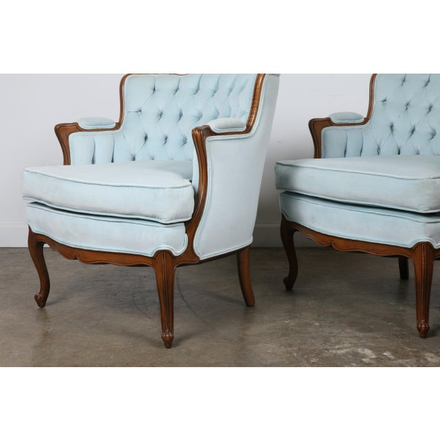 Italian-Style Chairs in Baby Blue - A Pair - Image 3 of 11