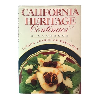 "1987 ""California Heritage Continues"" First Edition Cookbook For Sale"
