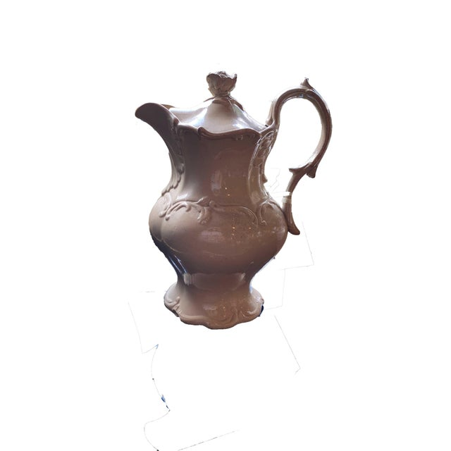 19th Century English Drabware Style Jug For Sale - Image 5 of 6