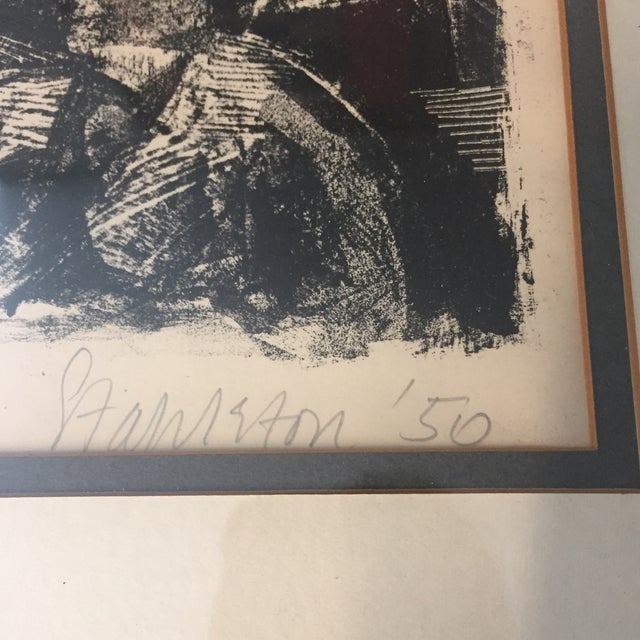 Vintage Picasso Style Lithograph - Image 5 of 7