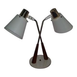 Gerald Thurston Mid-Century Desk Lamp Cone For Sale