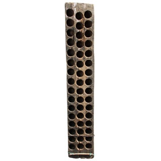 Late 19th Century Hand Carved Mold Rack From Oaxaca, Mexico For Sale