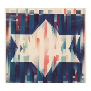 Yaacov Agam Star of Hope Edition Print - 19/99 For Sale