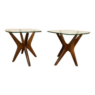 Adrian Pearsall Jacks Side Tables - a Pair For Sale