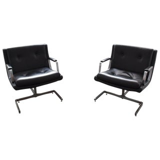 20th Century Pair of Armchairs by Raphaël Raffel, 1974 For Sale