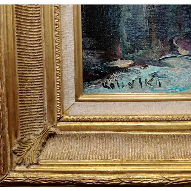 Kosinski - City Street Siding a Bridge - Oil Painting For Sale In Los Angeles - Image 6 of 10