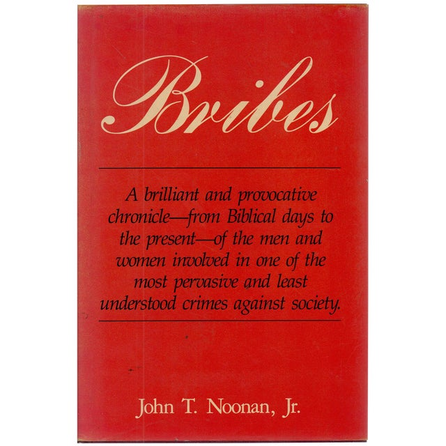 Bribes: A Provocative Chronicle For Sale