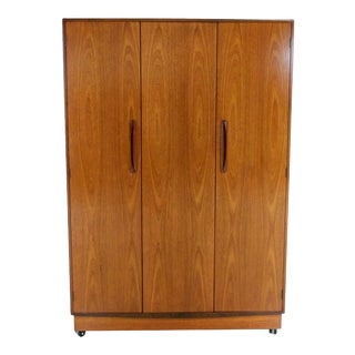 Teak G Plan Fresco Tripple Armoire