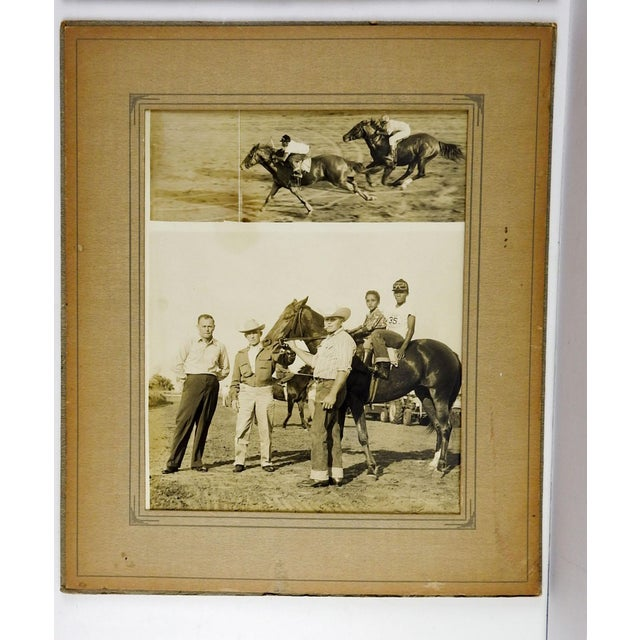 1950's Horse Race Photographs - Set of 4 For Sale - Image 4 of 6