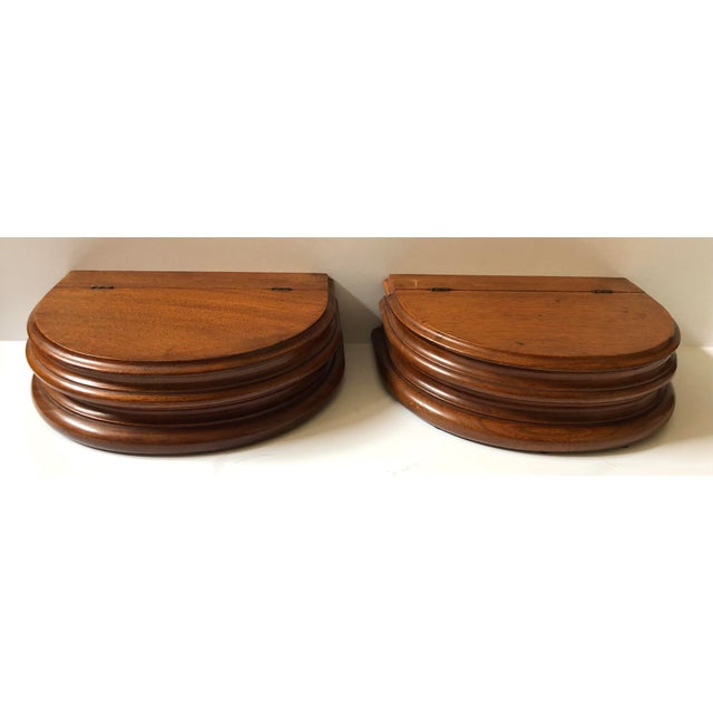 Sienna Pair of Pedestal Dresser Boxes For Sale - Image 8 of 8