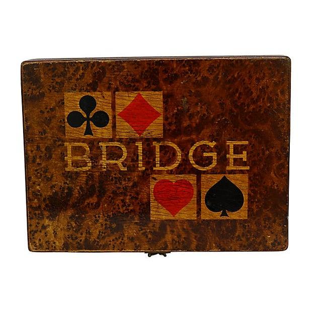 1940s 1941 German Bridge Players Box For Sale - Image 5 of 5
