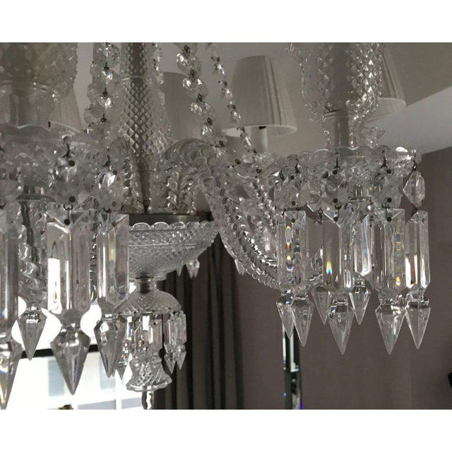 Baccarat Baccarat Zenith Eight-Light Chandelier For Sale - Image 4 of 9