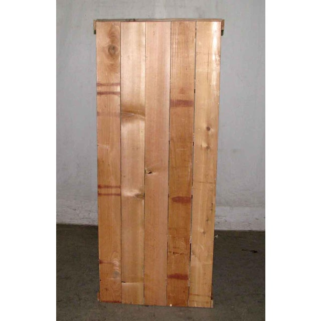 Brown Tall Narrow Pine Rustic Book Case For Sale - Image 8 of 8