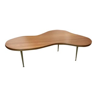 1950's T. H. Robsjohn-Gibbings for Widdicomb Biomorphic Coffee Table For Sale