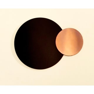 Circle Constructivist Mirror by Nina Cho For Sale