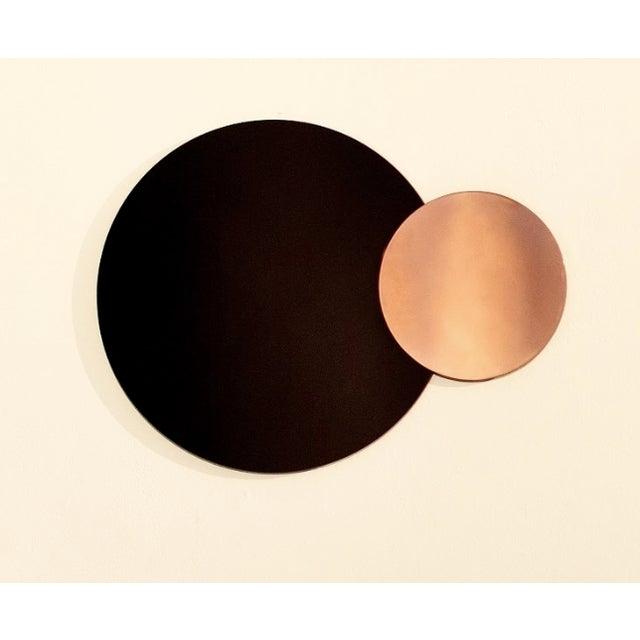 Circle Constructivist Mirror by Nina Cho For Sale