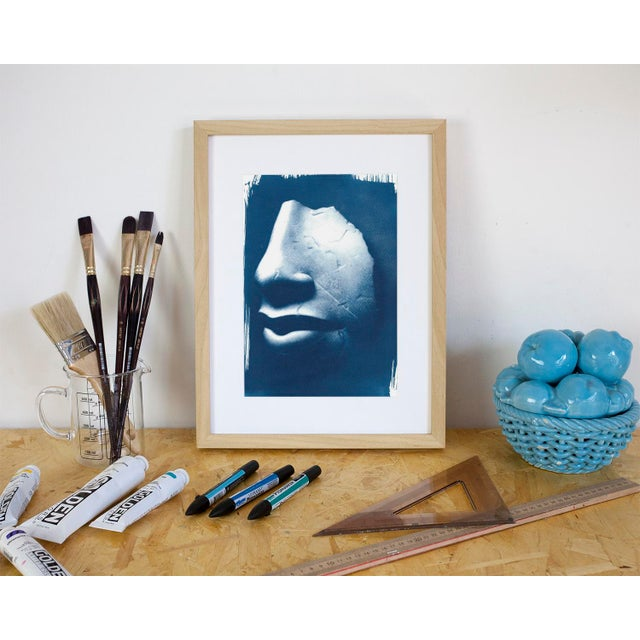 Limited series cyanotype print, handmade and printed with the sunlight! WHAT YOU'LL GET? _________________________ This is...