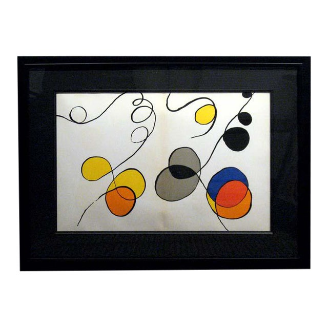 Pop Art Alexander Calder Original Art Lithograph For Sale