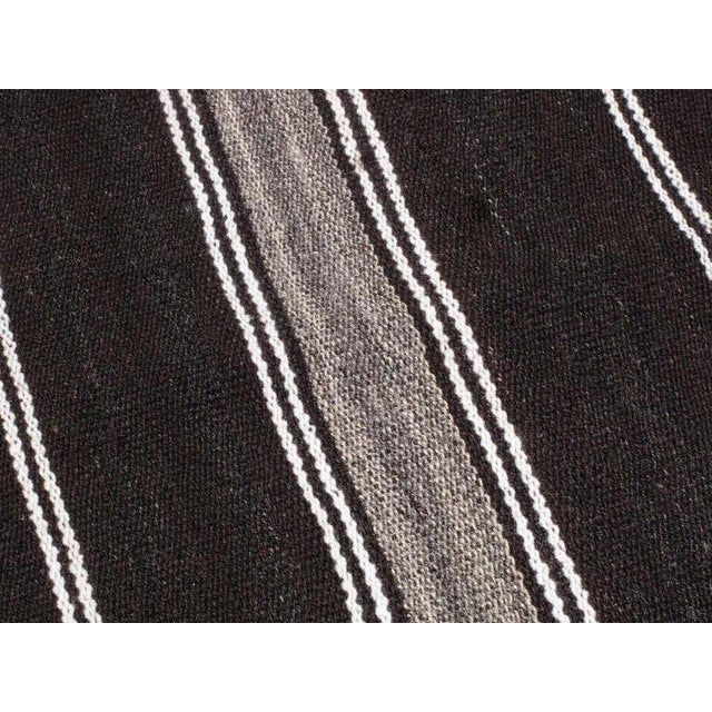 Large Kilim with Vertical Bands For Sale In New York - Image 6 of 7