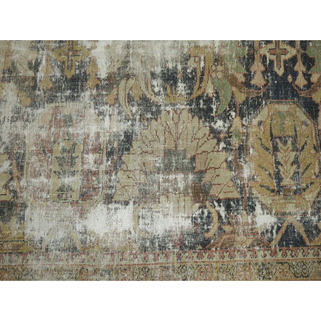 Distressed Persian Sultanabad Rug - 8'7'' x 11'9'' - Image 10 of 10