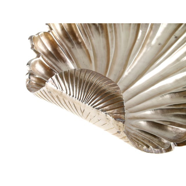 Brass Handcrafted Solid Brass Seashell Bowl / Catchall For Sale - Image 7 of 7