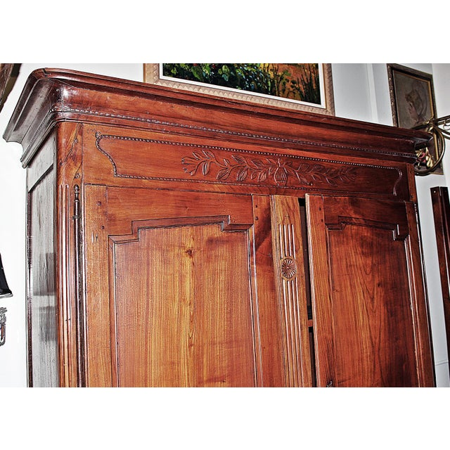 18th C. French Country Armoire - Image 10 of 11