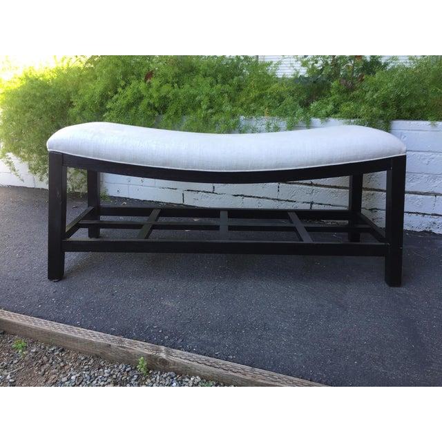 Asian Inspired Saddle Bench - Image 3 of 6