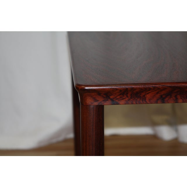 Contemporary Henning Kjærnulf for Vejle Stole Rosewood Side Tables - A Pair For Sale - Image 3 of 10