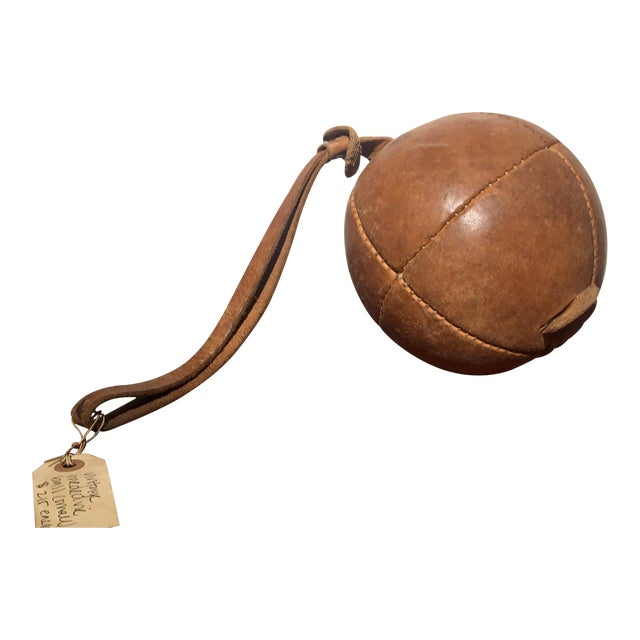 Vintage Small Medicine Ball - Image 1 of 6