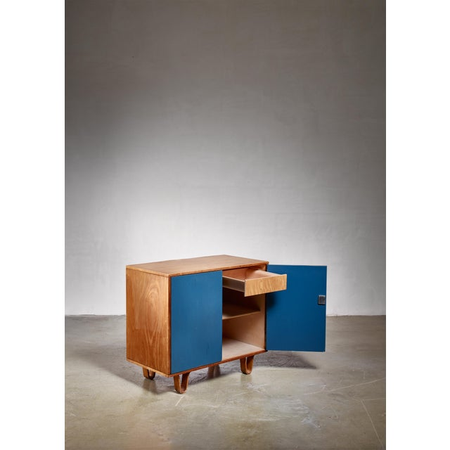 UMS Pastoe Cees Braakman Cabinet, Dutch, 1950s For Sale - Image 4 of 5