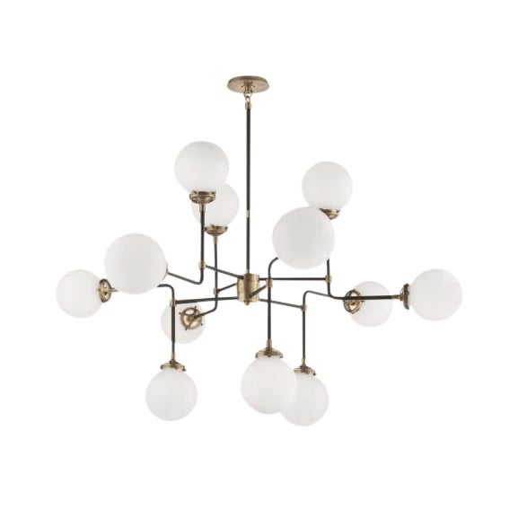Visual Comfort Ian K. Fowler Bistro Medium Chandelier Light For Sale