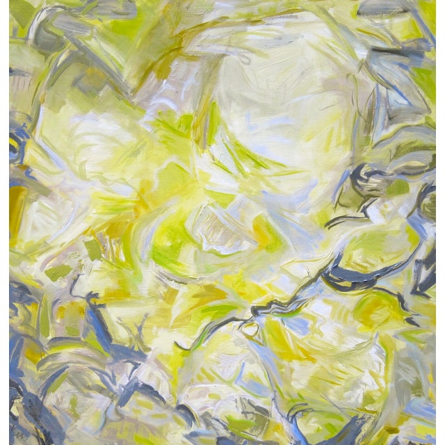 """Trixie Pitts """"Sea Angel"""" Abstract Painting - Image 1 of 2"""