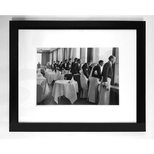 "Alfred Eisenstaedt ""Waiters Watching Sonya Henie Skate"" Photograph - Image 2 of 3"