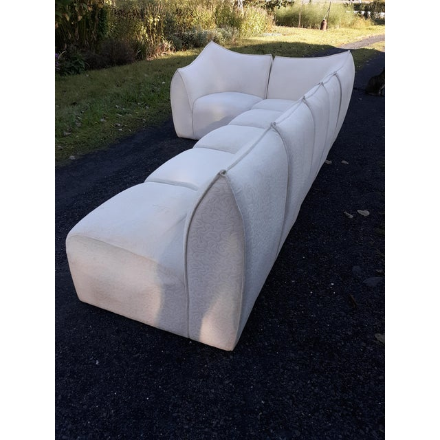 1960s Mario Bellini for B&b Italia Le Bambole 6 Piece Sectional Sofa For Sale - Image 5 of 13