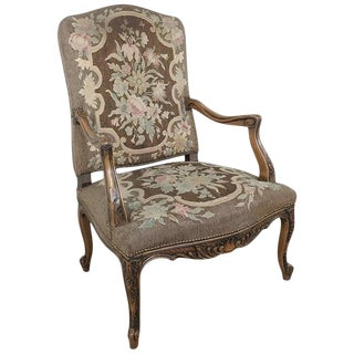 19th Century French Armchair For Sale