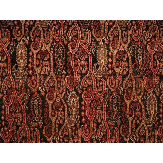 Red Antique Persian Bidjar Rug - 4′ × 6′4″ For Sale - Image 8 of 10