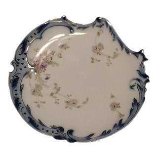 Antique Rosenthal Savoy Scalloped Plate For Sale