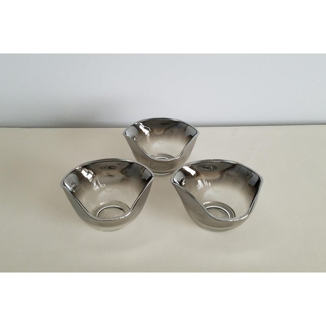 Silver Dorothy Thorpe Mid-Century Bowls - Set of 4 For Sale - Image 8 of 8