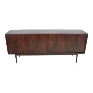 Scandinavian Modern Rosewood Credenza Designed by Arne Vodder For Sale