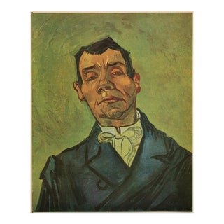 "1947 Van Gogh ""Portrait of Actor"", First Edition Parisian Lithograph For Sale"