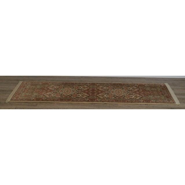 "Traditional Karastan Empress Kirman 2'6"" X 8'6"" Runner Area Rug Carpet (A) For Sale - Image 3 of 12"