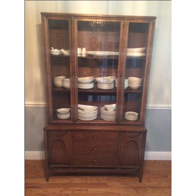 This sale is for a China Cabinet from Broyhill Brasilia, the most sought after Mid-Century Modern maker and design. This...