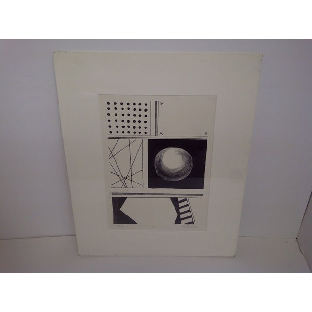 Probe, Limited Edition Numbered Print, 1/8, by Milton Weiss. Signed by Pittsburgh Artist. Matted and shrink wrapped....