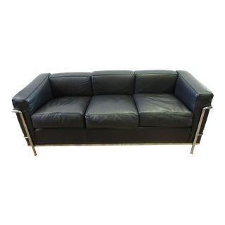 Cassina Le Corbusier Lc2 3-Seat Sofa For Sale