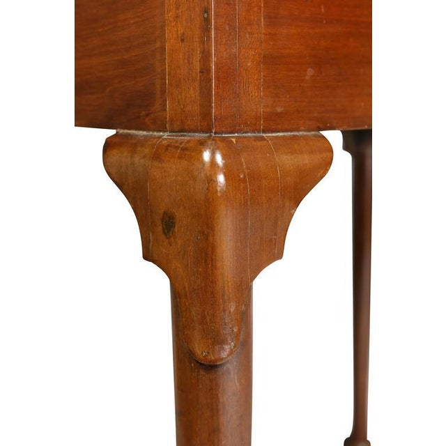 Queen Anne Style Mahogany Games Table For Sale - Image 5 of 10
