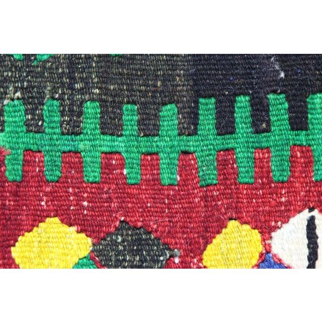 Handmade Kilim Pillowcase - Image 4 of 5
