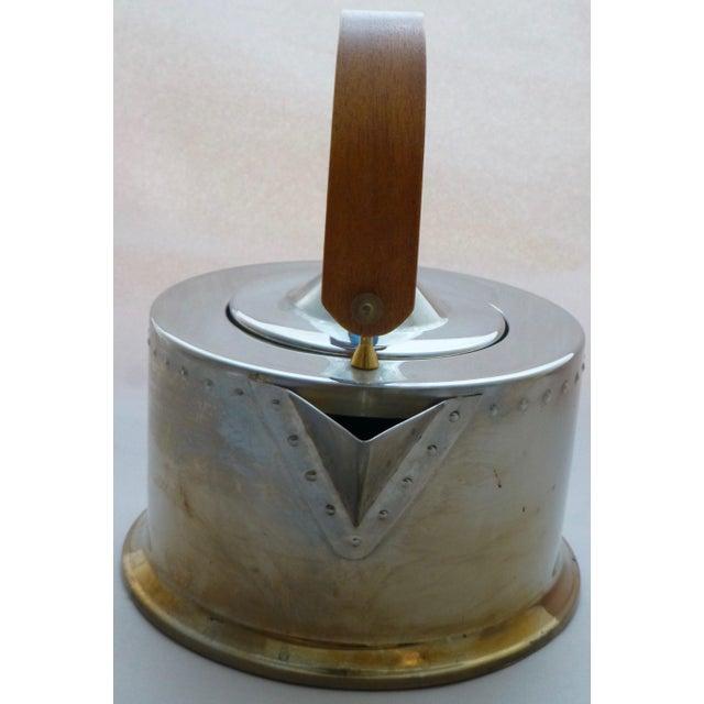 Vintage Carsten Jorgensen Danish Modern Bodum Osiris Teapot For Sale - Image 5 of 11