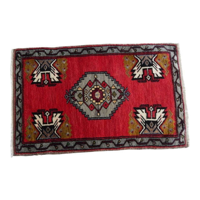 Small Turkish Accent Rug For Sale